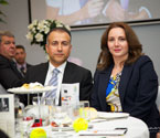 Mr S. Mehmet Apak (Consul General for the Republic of Turkey, Melbourne) and Mrs Zeynep Apak