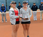 Gallipoli Youth Cup girls' Doubles Runners Up, Anja Dokic and Zoe Hives