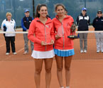 Gallipoli Youth Cup girls' Doubles Winners, Ipek Soylu and Muge Topsel