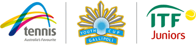 Tennia Australia | Gallopoli Youth Cup | International Tennis Federations Junior